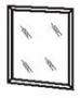 Щит с зеркалом ( 833х713 )